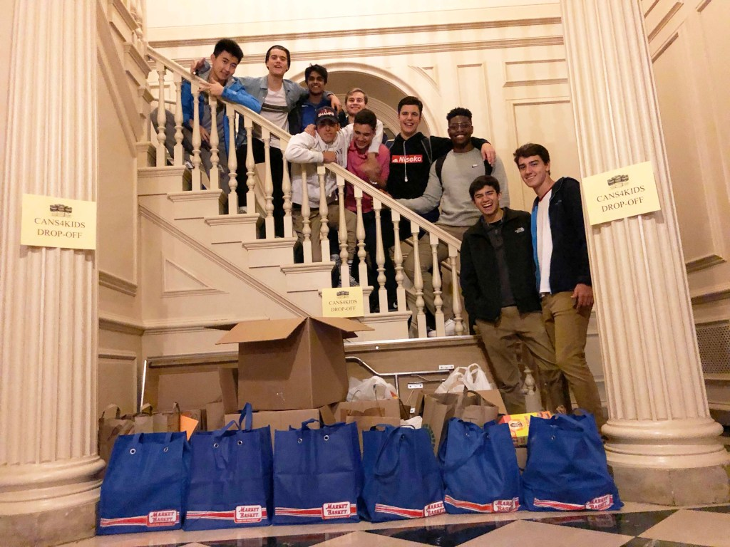 Cans4Kids Community Service Collects More Than 1000  Non-Perishable Foodstuffs Over Halloween