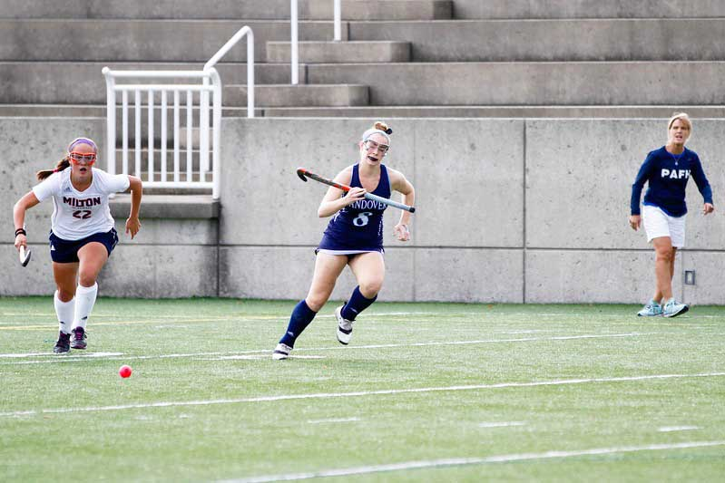 Andover Field Hockey Finishes Off Cushing with Strong Second Half