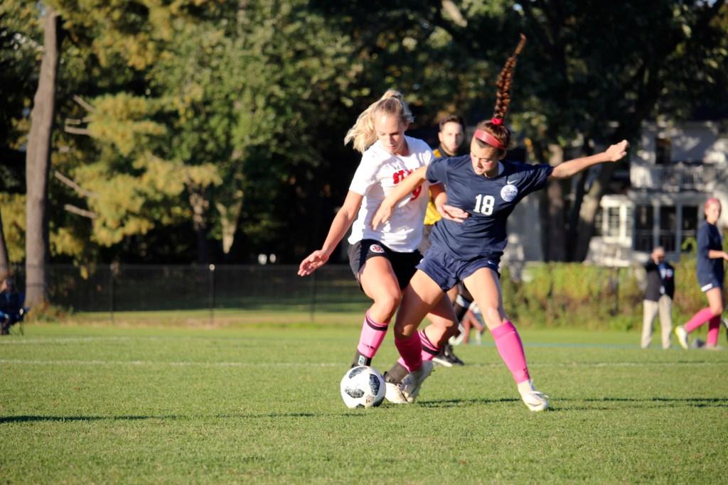 Andover Girls Soccer Ties Lawrence Academy On Senior Night