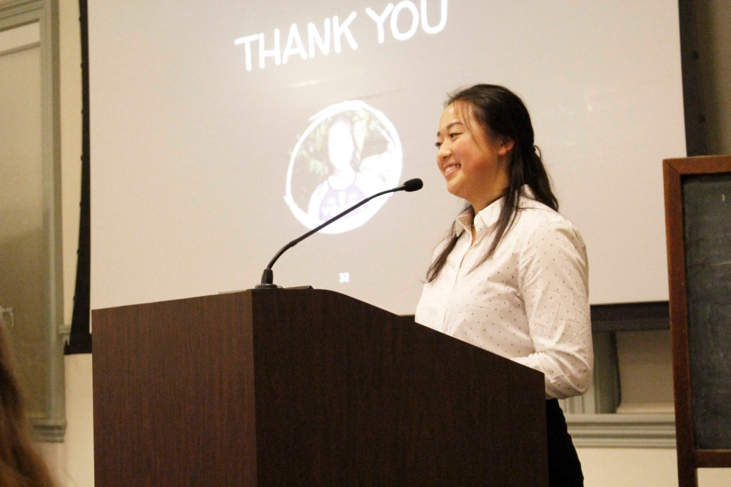 Brace Scholar: Serena Liu '19 Shines Light on  Women in American Football
