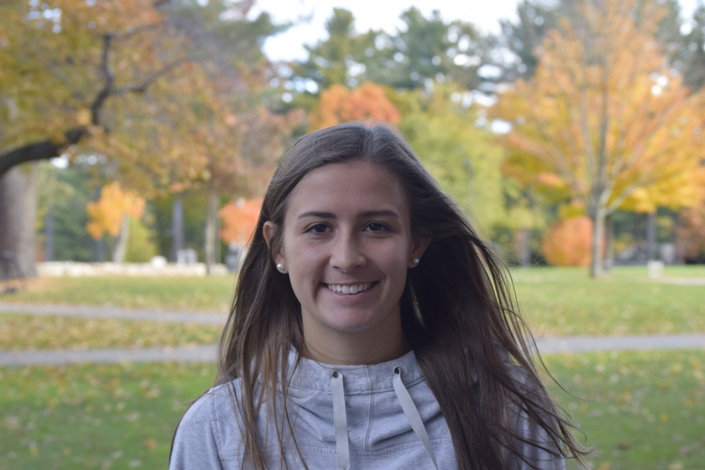 Dedicated Captain Meghan Ward '19 'Never Comes Off the Field'