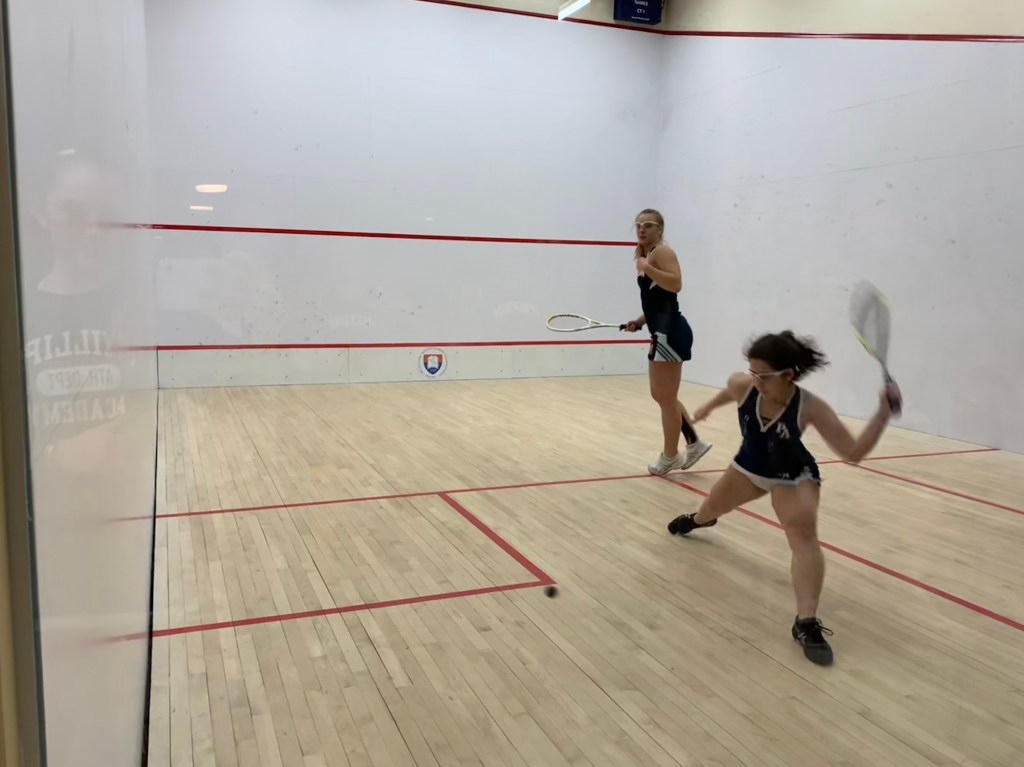 Girls Squash Falters in Double Header