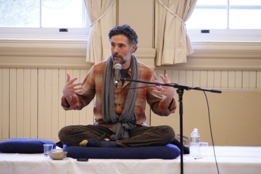 Living in The Present: Alexis Santos Speaks on Mindfulness