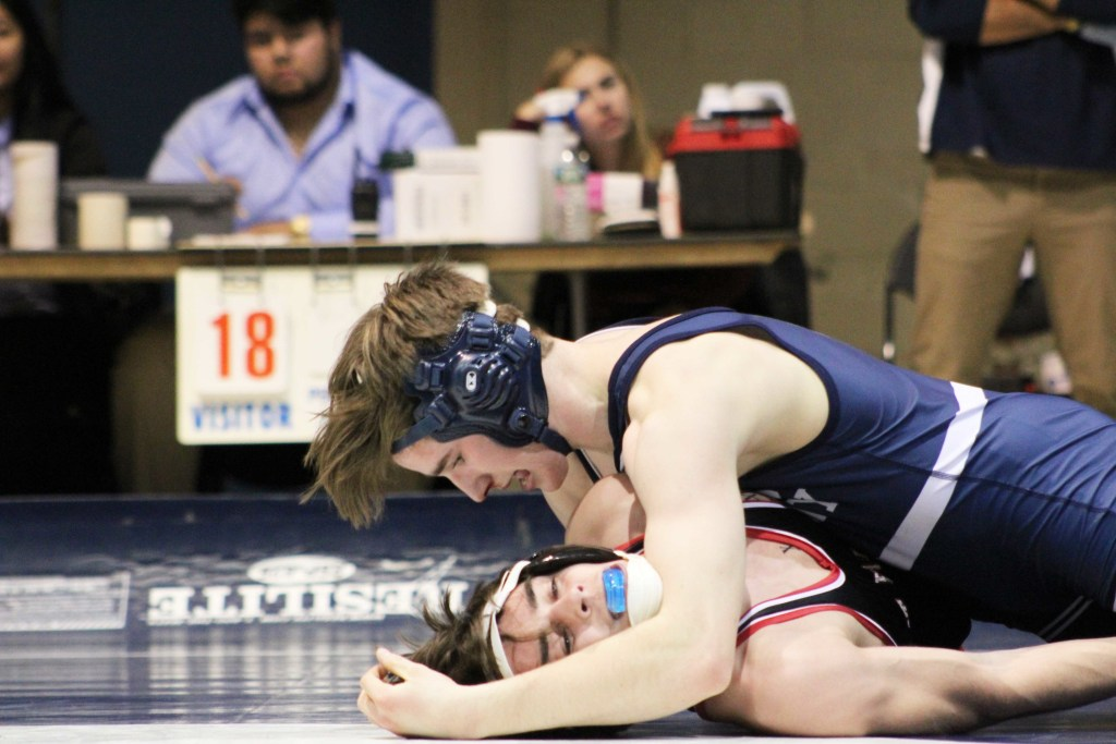 Andover Wrestling Shuts Out Hyde School