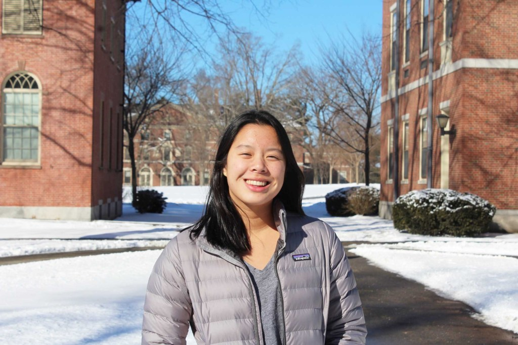 "Co-Captain Liz Tran '19 ""Couldn't Be Doing Better"""