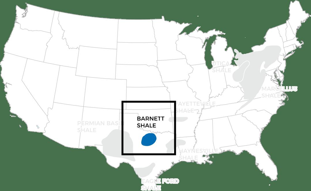 The Barnett Shale Map