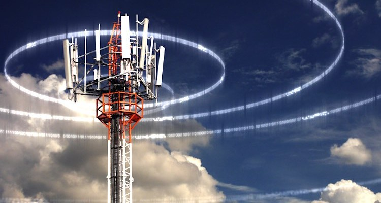 5G tower signals