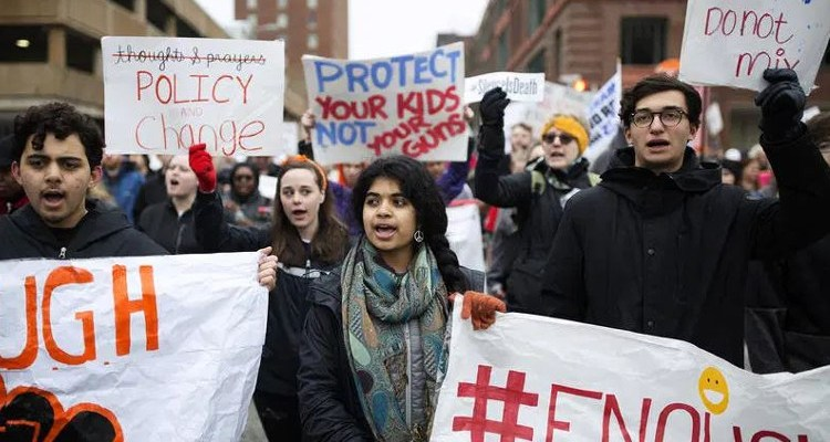 March for Our Lives protesters
