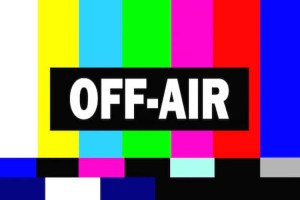 Off-Air television graphic