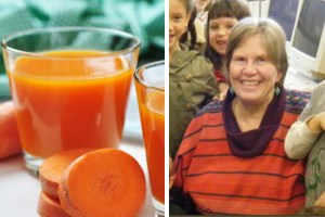 Woman beat cancer with raw carrot juice