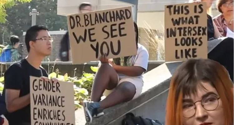 Social justice warriors protesting gender