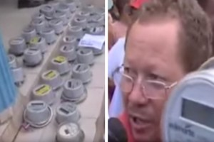 Dominican Republic protesting smart meters