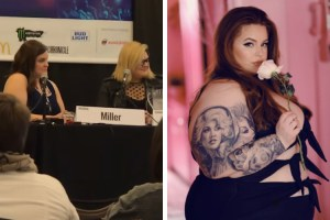 Body positivity panel and Tess Holiday