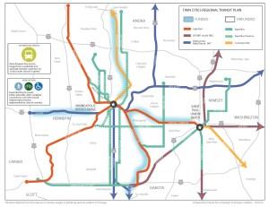 Twin cities regional Transit plan2