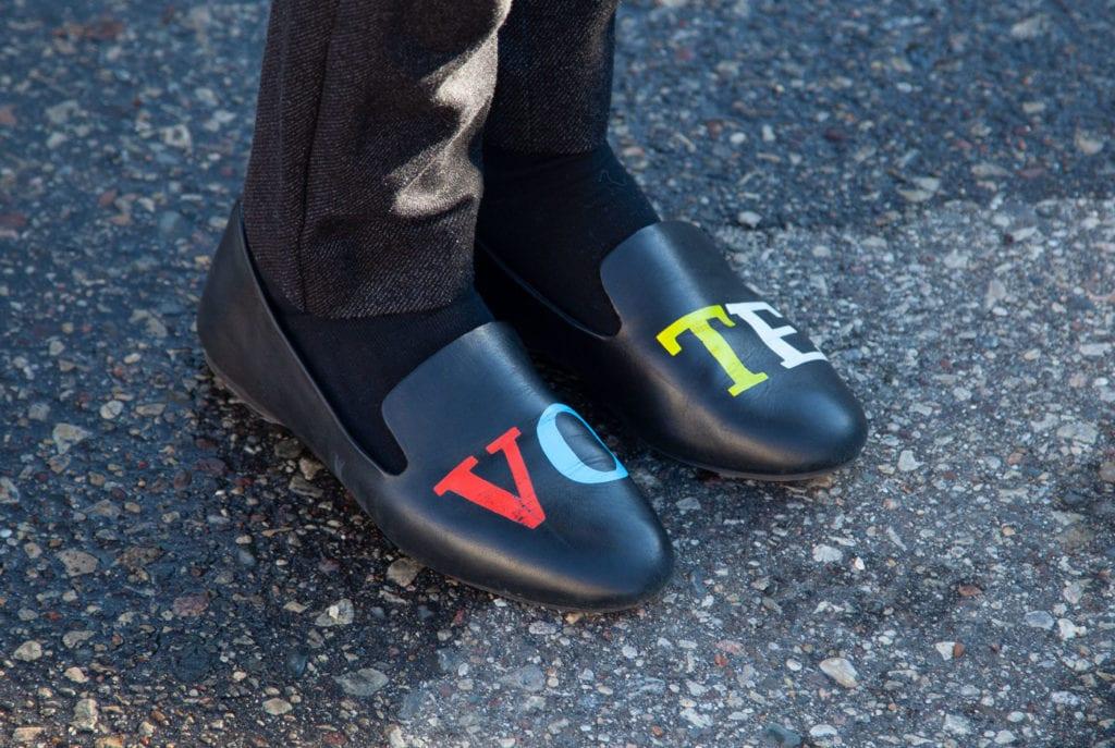 vote shoes