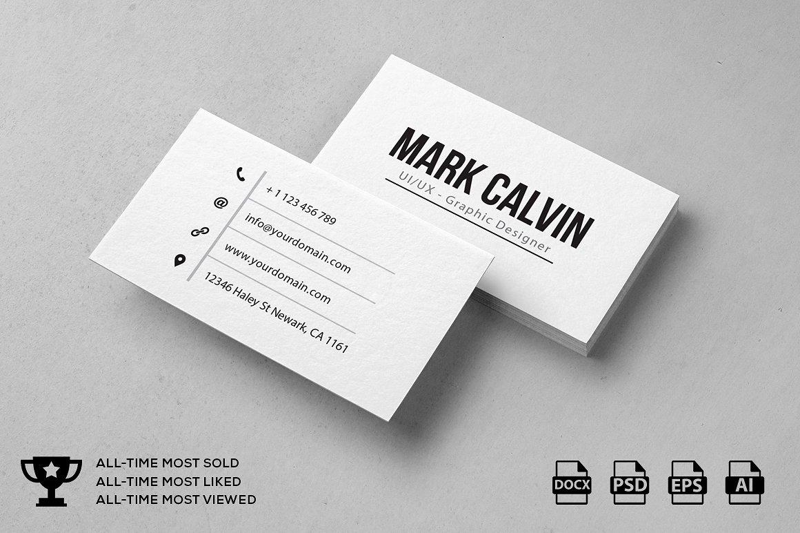 personal calling card designs