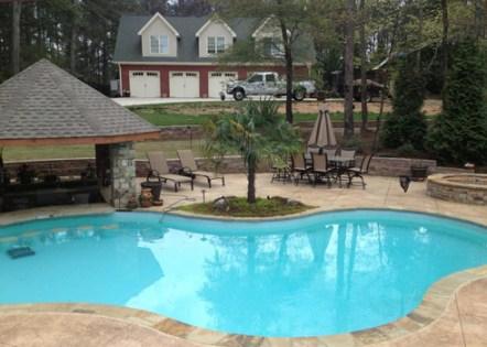 Desjoyaux Pools Built by Phillips Landscape Group