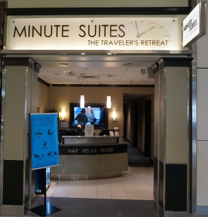 Minute Suites Entrance