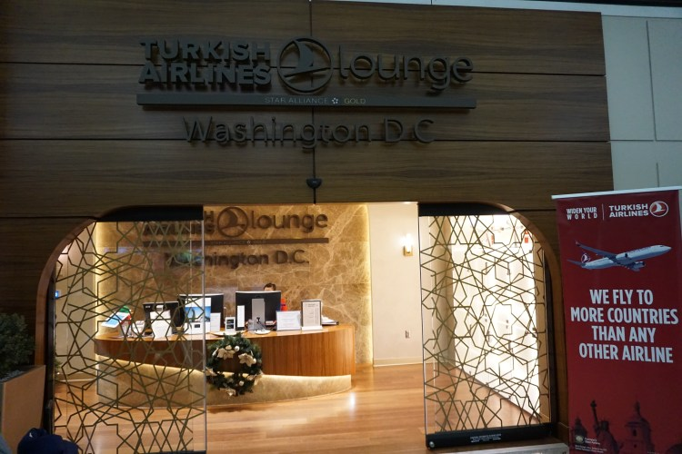 Turkish Airlines' Lounge