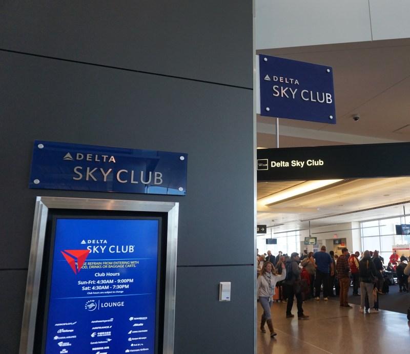 Delta Sky Club Boston