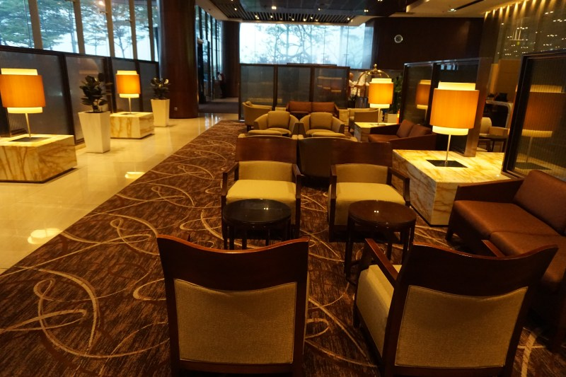 Singapore Airlines First Class Terminal