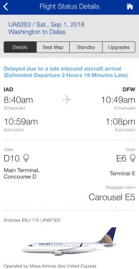 United Airlines Flight Delay