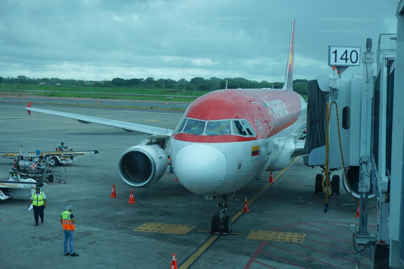 Avianca Airlines A320 Business Class Panama to Bogota