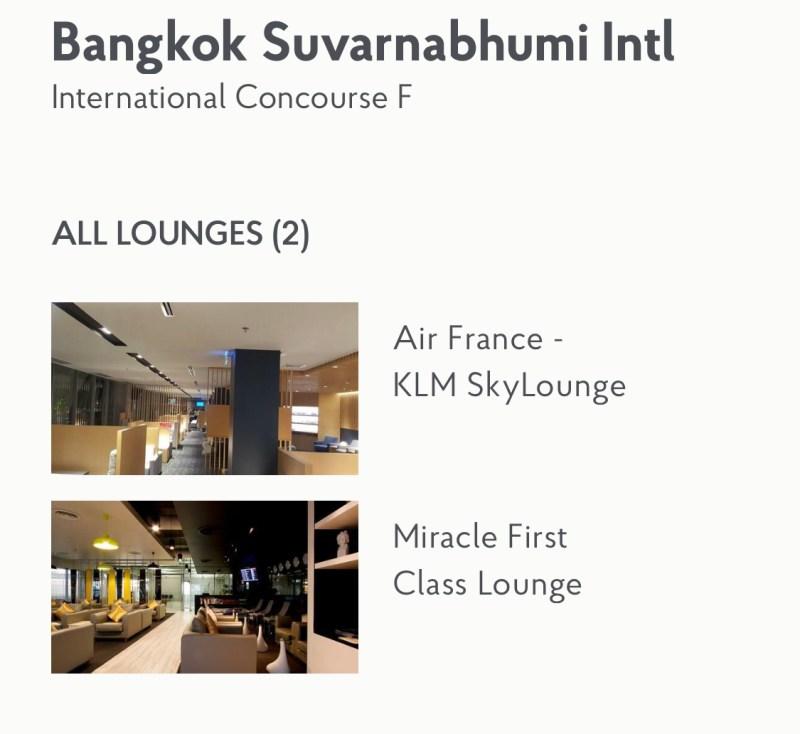 Priority Pass Lounge Bangkok