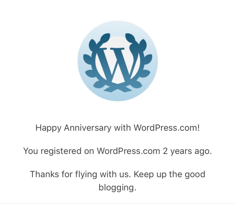 WordPress Congratulations to Phillips Loop on Turning Two
