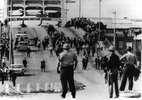 Edmund Pettus Bridge on Bloody Sunday