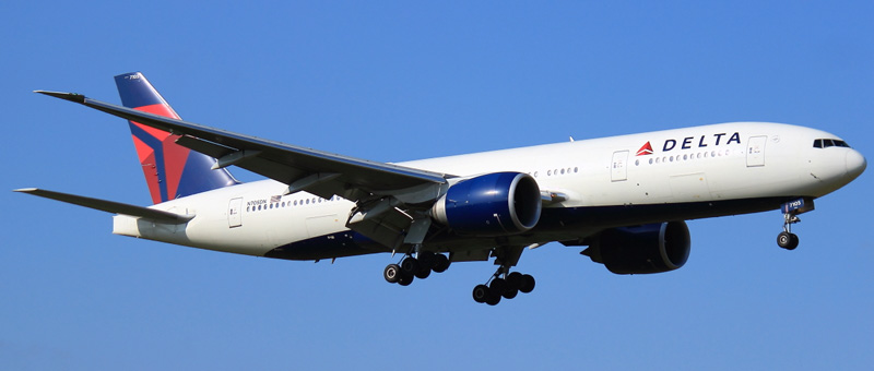 Delta Airlines 777-200
