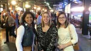 Attorneys Monica Ybarra, Dawn Rahme, and Erica Halley at Brewfest