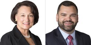 Oklahoma healthcare attorneys Mary Holloway Richard and Samuel D. Newton
