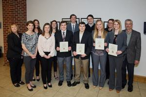 Eight 1L students were awarded the Best Brief Award, sponsored by Phillips Murrah, on April 19 at the University of Oklahoma's Competitions and Clinic Awards Luncheon.