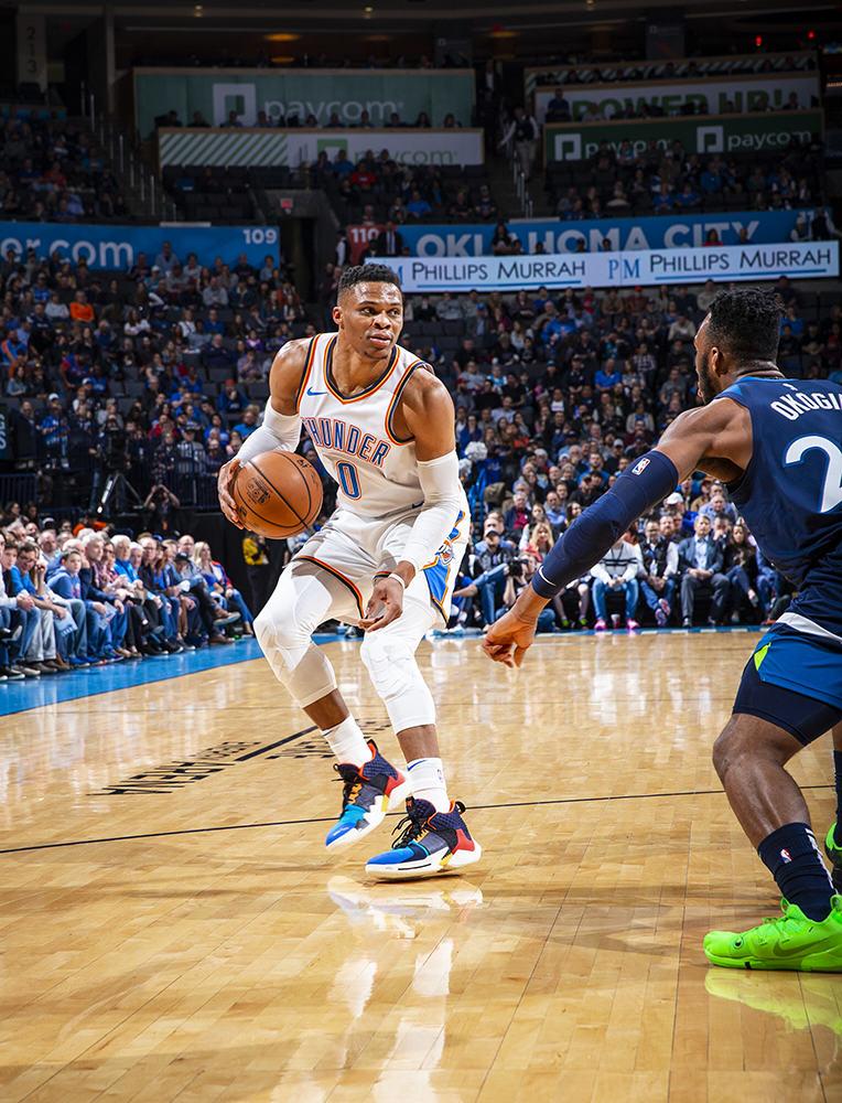 Westbrook plays against Minnesota