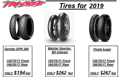 For Sale 2019 Discounted Sportbike Tires 2019 in Southern