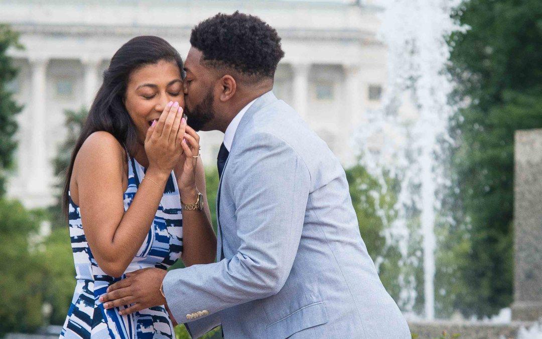 Tim + Jessica | Washington, D.C. Surprise Engagement