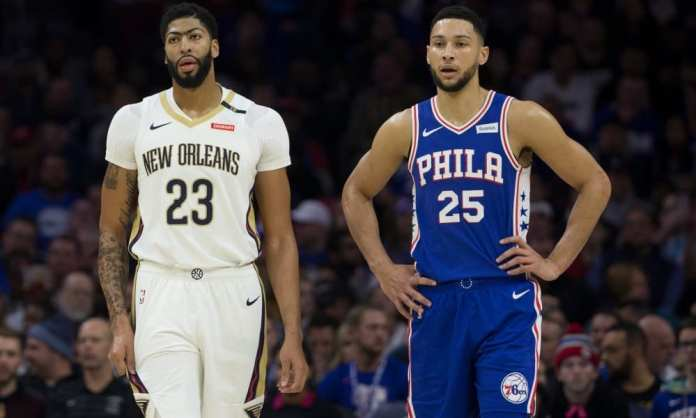 Will Ben Simmons practice his shooting like Anthony Davis has?