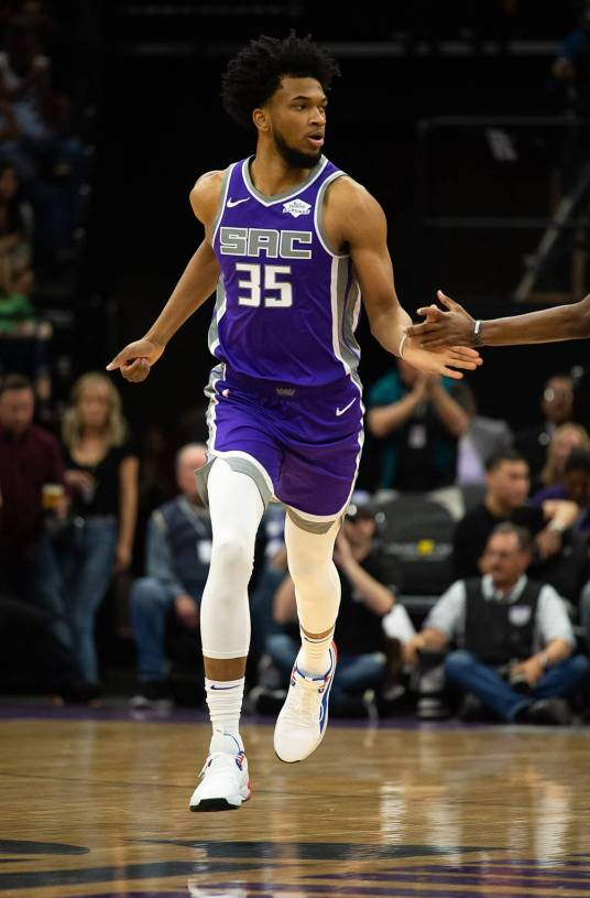 Marvin Bagley as a Sacramenton King