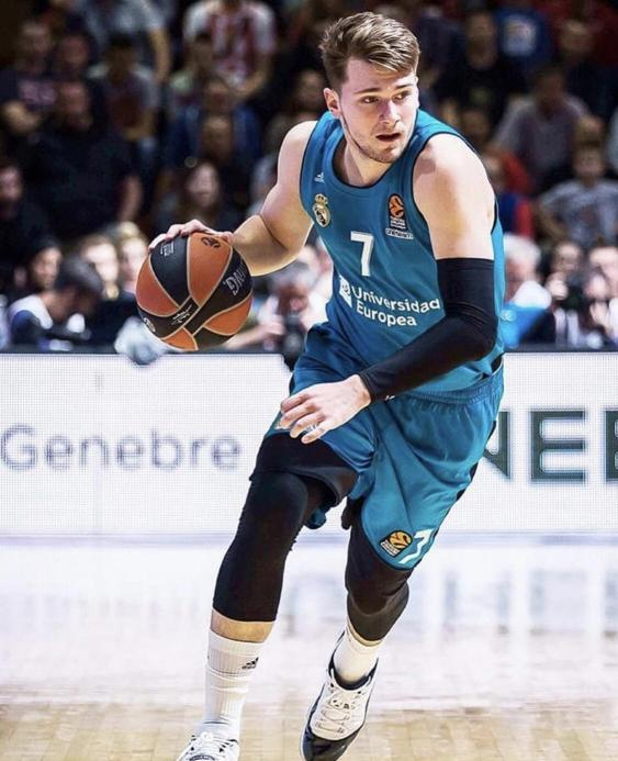 Luka Doncic pads his NBA draft profile playing with Real Madrid