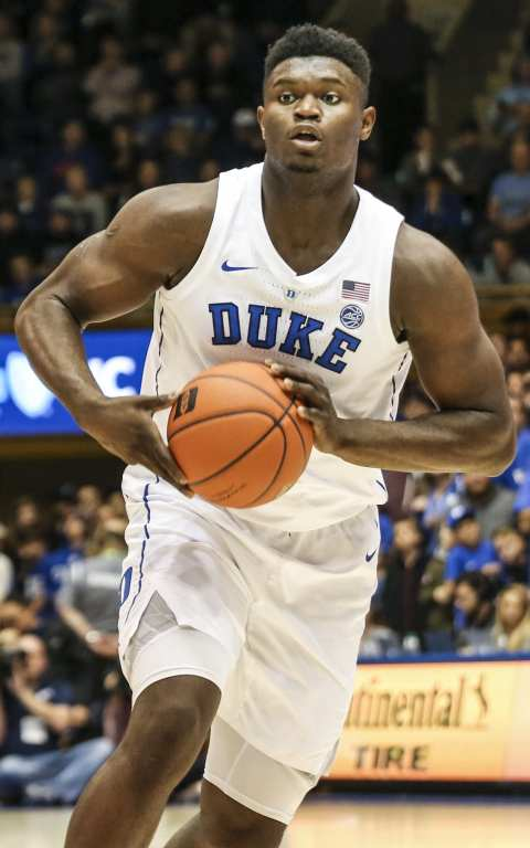 Is a Zion Williamson injury inevitable Here he is at Duke, where he had knee troubles