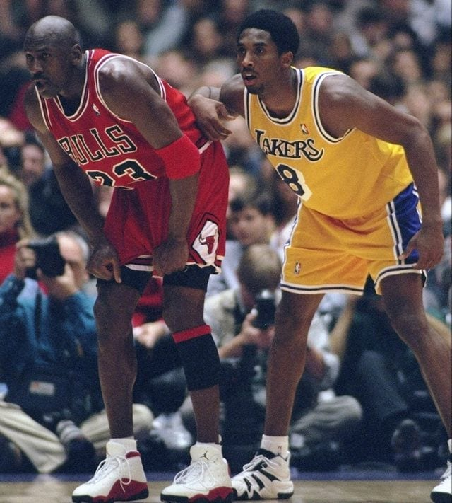 Kobe and Michael Jordan, Kobe Bryant was like Mike with his teammates