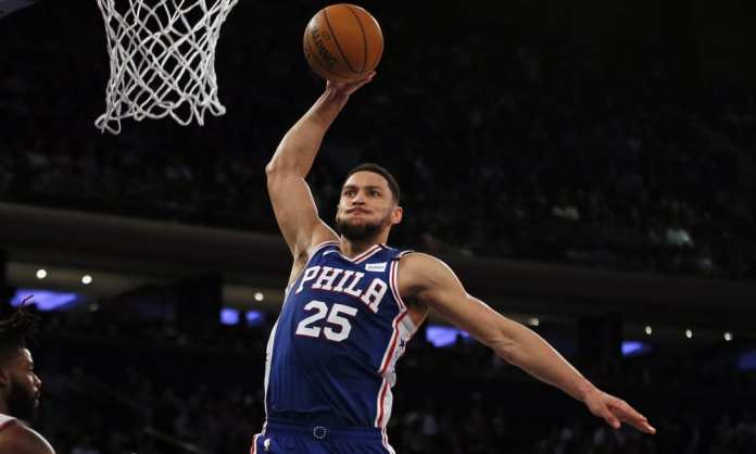 Sixers PG Ben Simmons will make a position change to power forward