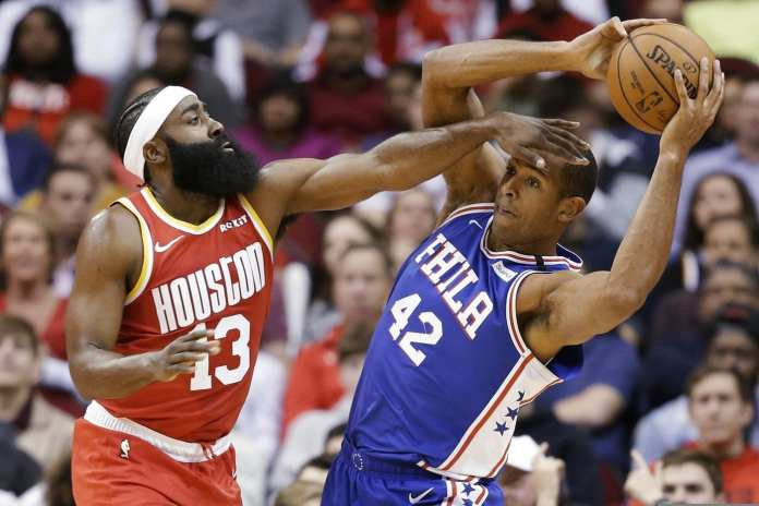 James Harden & Al Horford