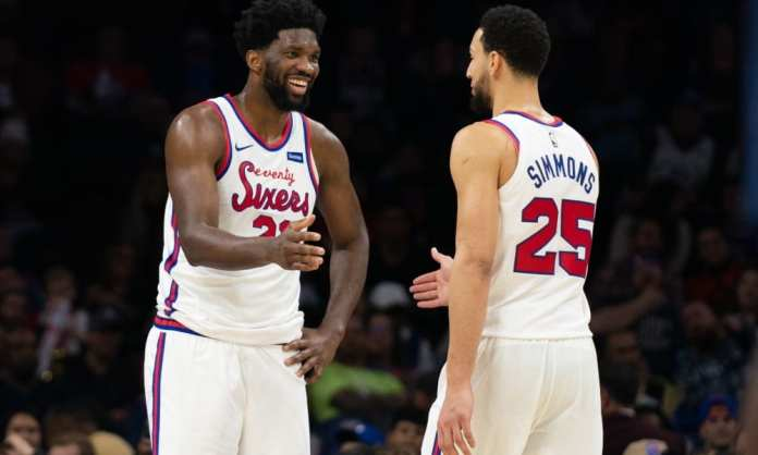 Joel Embiid & Ben Simmons, balling for Philly