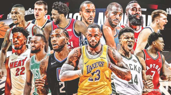 Vintage NBA vs. The Current Day 2020-21 NBA superstars