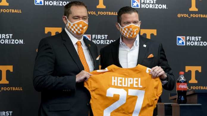 Josh Heupel introduced on Rocky Top, Can he get the Tennessee Vols recruiting machine up and running