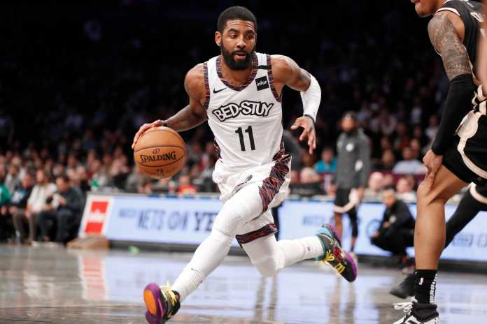 Kyrie Irving takes up a big piece of the Nets payroll