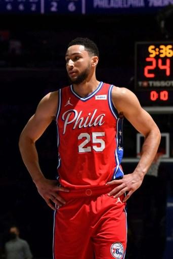 Ben Simmons of the Philadelphia 76ers.