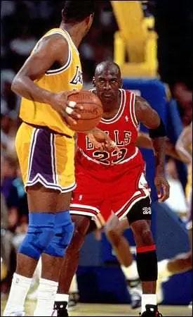 1991 NBA Finals, Michael Vs. Magic, the Bulls had great NBA defensive rankings
